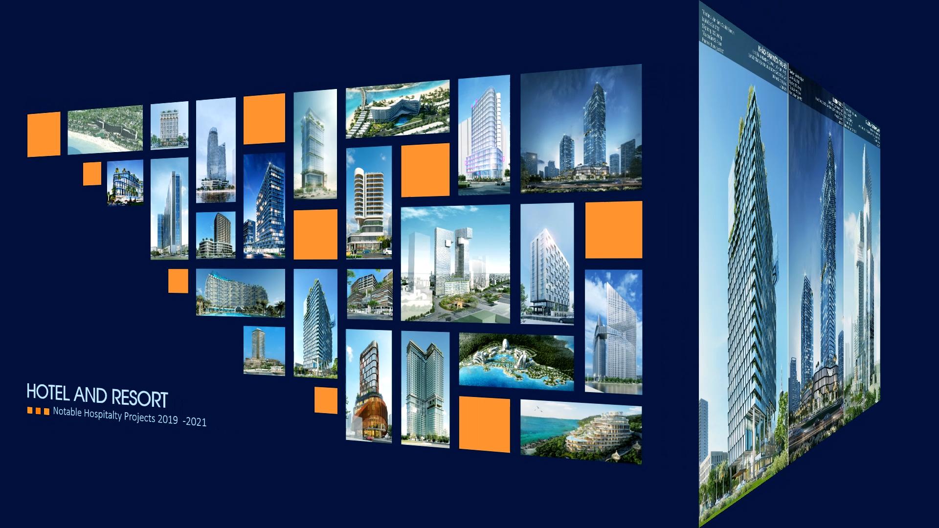 VNCC – Giới thiệu một số dự án khách sạn, khu nghỉ dưỡng tiêu biểu 2019 – 2021